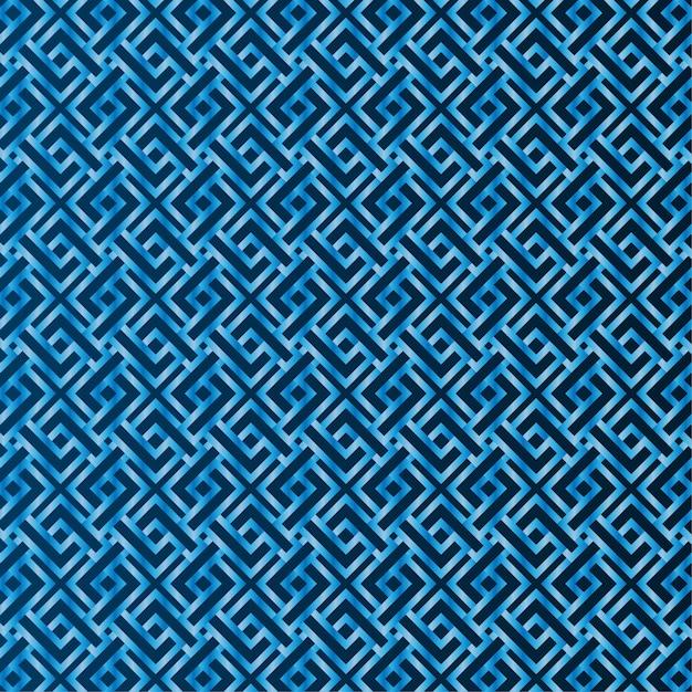 Modello blu senza cuciture sullo sfondo Vettore Premium