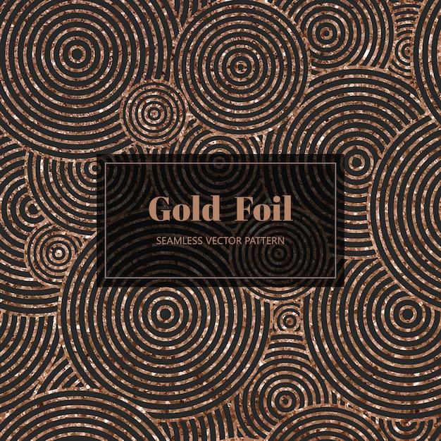 Modello d'oro antico Vettore Premium