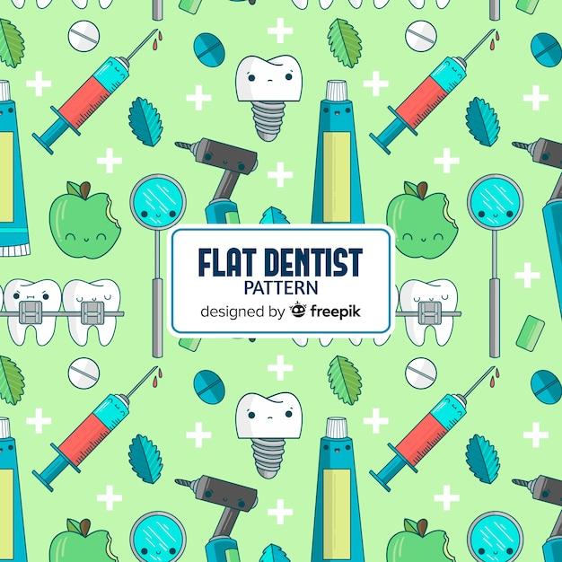 Modello dentista Vettore gratuito