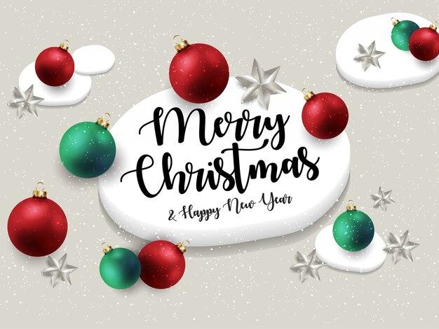 Auguri Di Buon Natale Ufficio.Modello Di Biglietto Di Auguri Di Buon Natale E Felice Anno