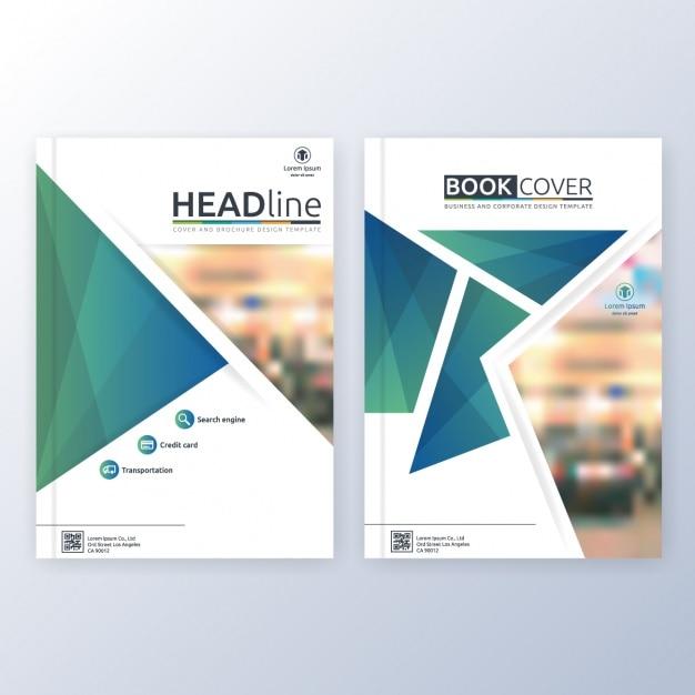 Book Cover Design Copyright : Modello di copertina del libro scaricare vettori gratis