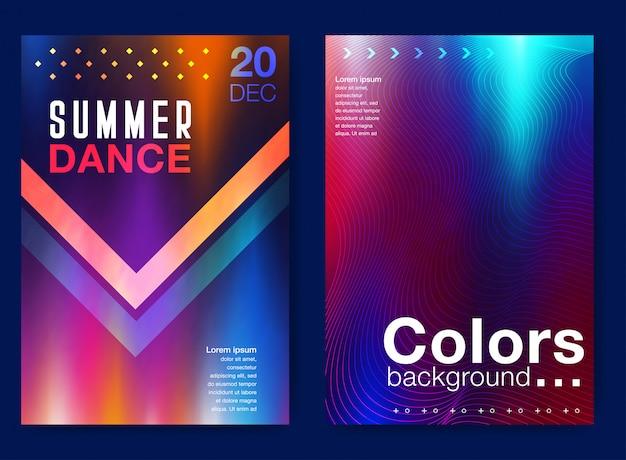 Modello di copertina stampata Vettore Premium