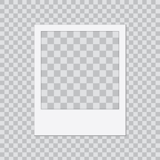Modello di cornice fotografica creativa Vettore Premium