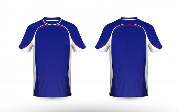 Modello di design t-shirt layout e-sport Vettore Premium