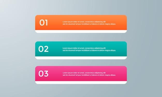 Modello di infografica per il business Vettore Premium