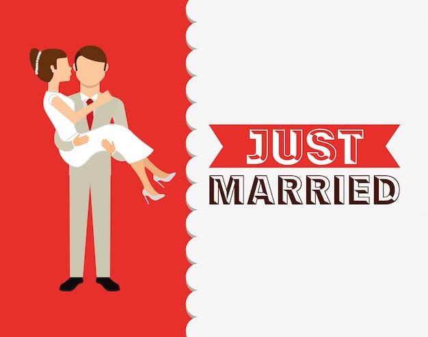 Modello di invito di nozze Vettore gratuito