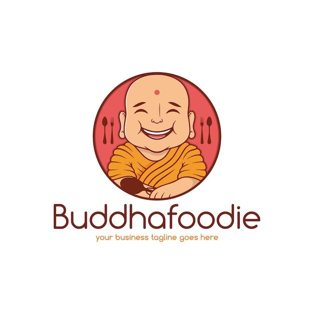 Modello di logo di ristorante di cibo indiano Vettore Premium