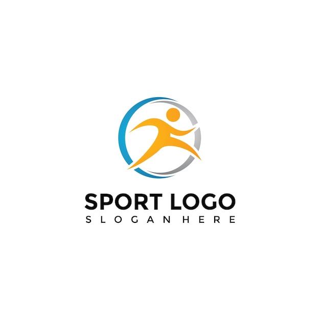 Modello di logo di sport Vettore Premium