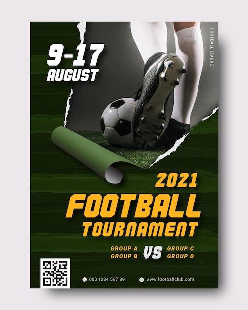 Modello di manifesto di eventi sportivi Vettore gratuito