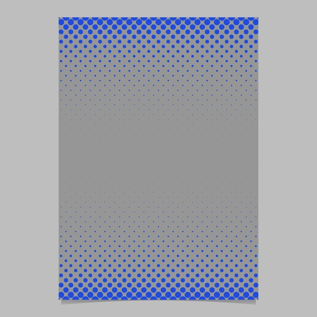 Modello di modello pattern di cerchio mezzitoni di colore astratto - vector design flyer con puntini colorati Vettore gratuito