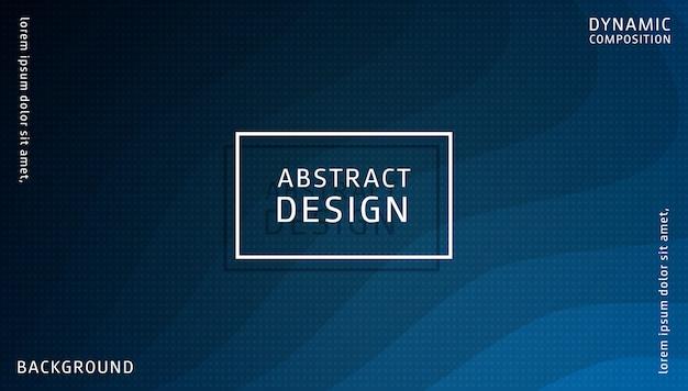 Modello di sfondo dinamico gradiente astratto Vettore Premium