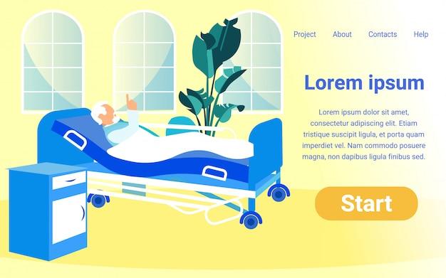 Modello piatto per progetto online Vettore Premium