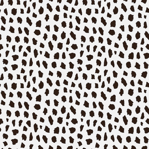 Modello senza cuciture con pelle di ghepardo. Vettore Premium