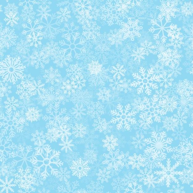 Modello senza cuciture effetto gelo Vettore Premium