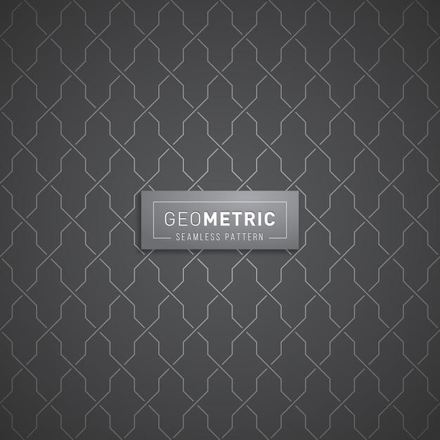 Modello senza cuciture geometrico astratto Vettore Premium
