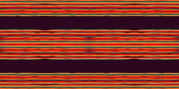 Modello senza cuciture tribale blu di shibori. priorità bassa blu di vettore turco del batik. sfondo rustico batik. shibori giapponese modello acquerello rustico. batik. Vettore Premium