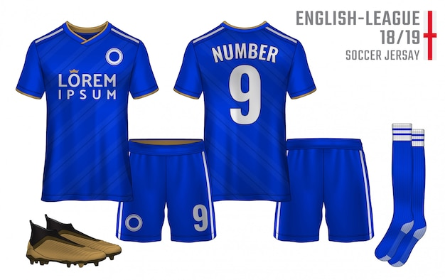 Modello sportivo t-shirt Vettore Premium