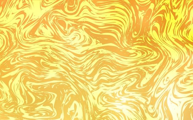 Modello vettoriale giallo chiaro con forme di lava Vettore Premium