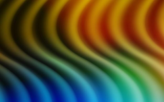 Modello vettoriale giallo con forme di bolla Vettore Premium