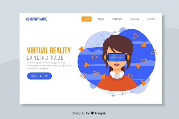 Modello web di landing page corporativo per aziende o agenzie Vettore gratuito