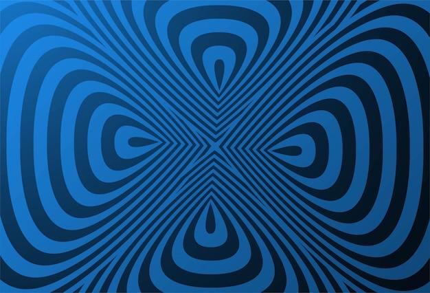 Motivo geometrico creativo con sfondo a zig zag Vettore gratuito