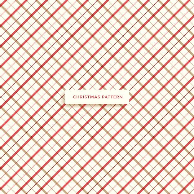 Motivo natalizio, sfondo invernale Vettore Premium