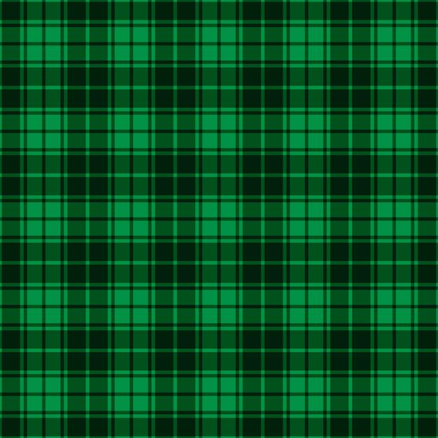 Motivo scozzese senza giunte a quadretti Vettore Premium