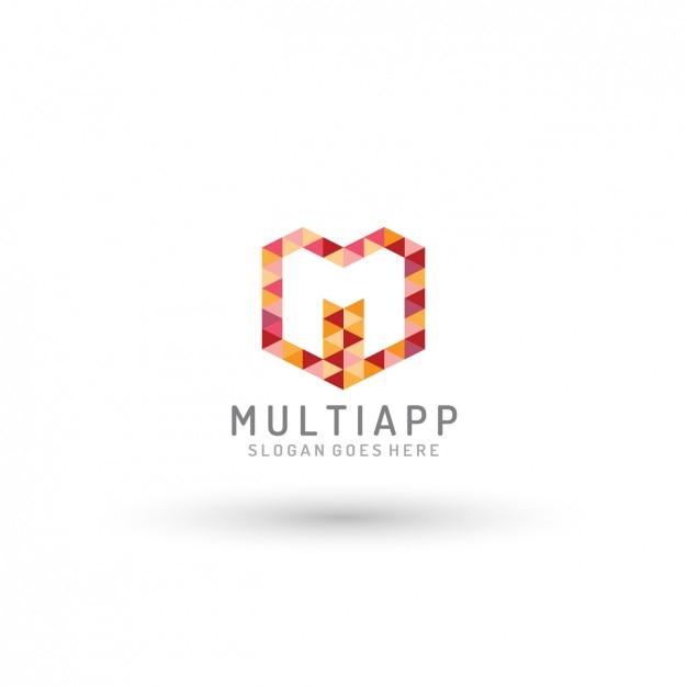 Multi app logo template Vettore gratuito