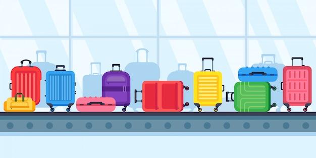 Nastro trasportatore bagagli Vettore Premium