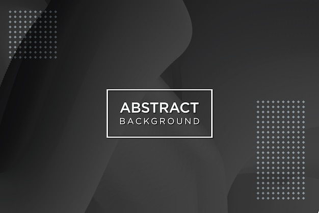 Nero sfondo astratto Vettore Premium