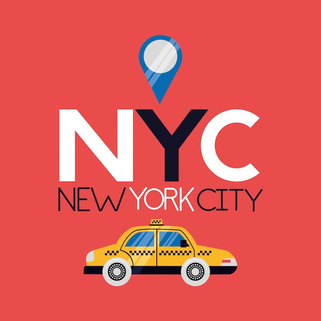 New york city Vettore gratuito