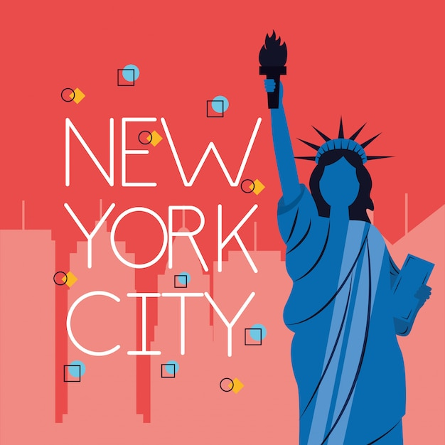 New york city Vettore gratuito