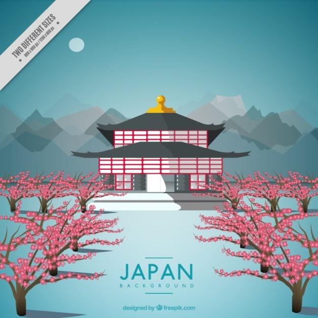Nizza sfondo di architettura giapponese scaricare for Architettura tradizionale giapponese