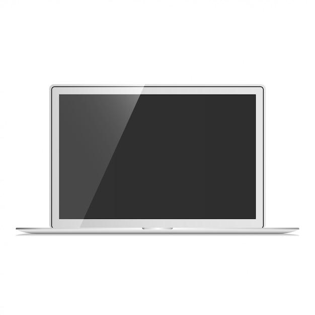 Notebook set mockup vector Vettore Premium