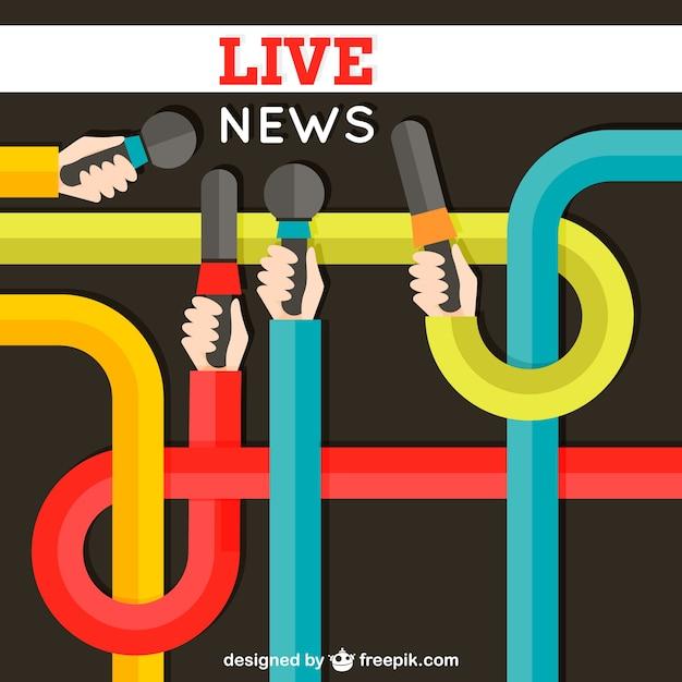 Notizie in diretta scaricare vettori gratis for Diretta notizie