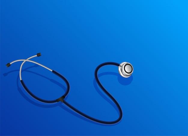 Oggetto stetoscopio medico Vettore gratuito