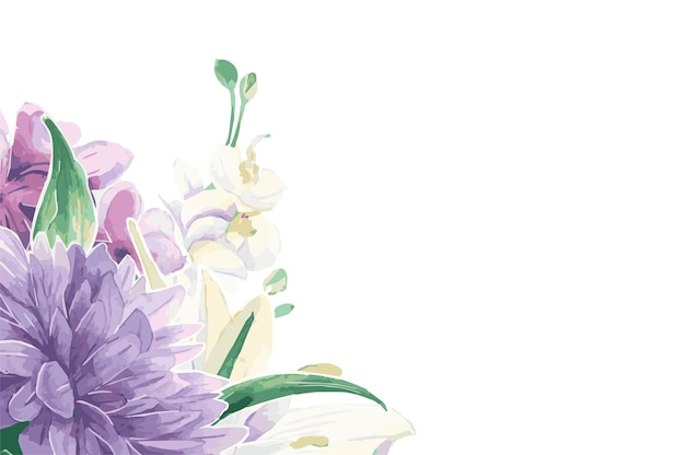 Ornamenti floreali d'epoca Vettore gratuito