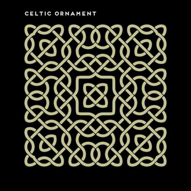 Ornamento celtico Vettore gratuito
