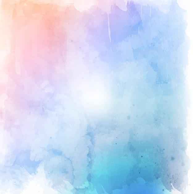 Pastello grunge stile acquerello texture di sfondo Vettore gratuito