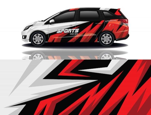 Pellicola per auto Vettore Premium