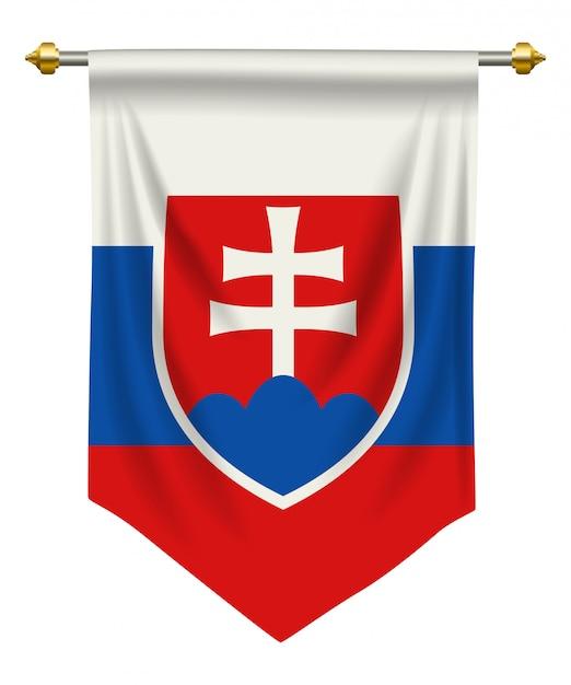 Pennant slovacchia Vettore Premium
