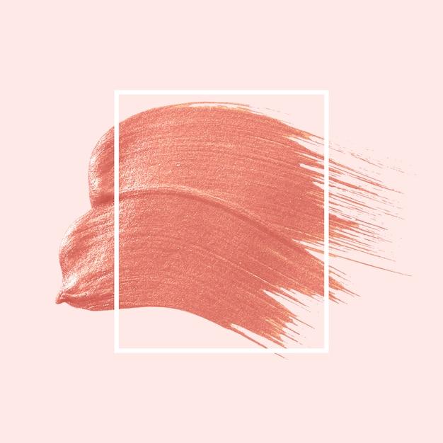 Pennellata rosa Vettore gratuito