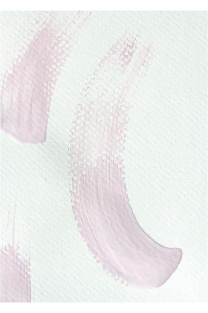 Pennellate di vernice rosa Vettore gratuito