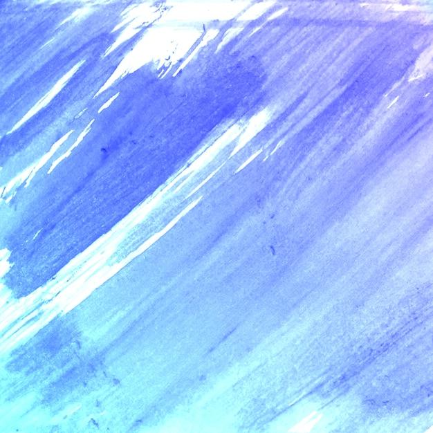 Pennello Di Colore Azzurro Pennello Fatto Sfondo Di Texture