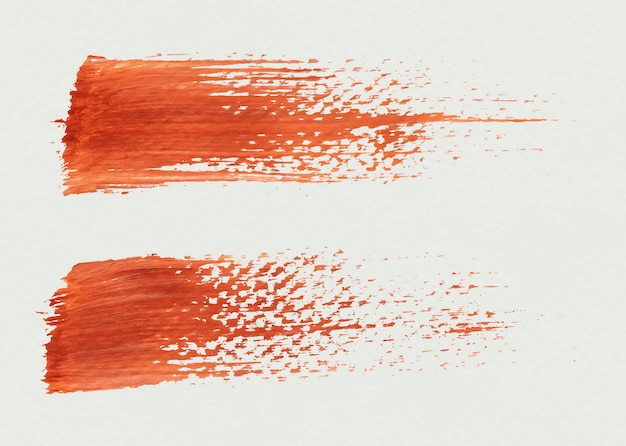 Pennello texture Vettore gratuito