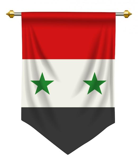 Penny della siria Vettore Premium