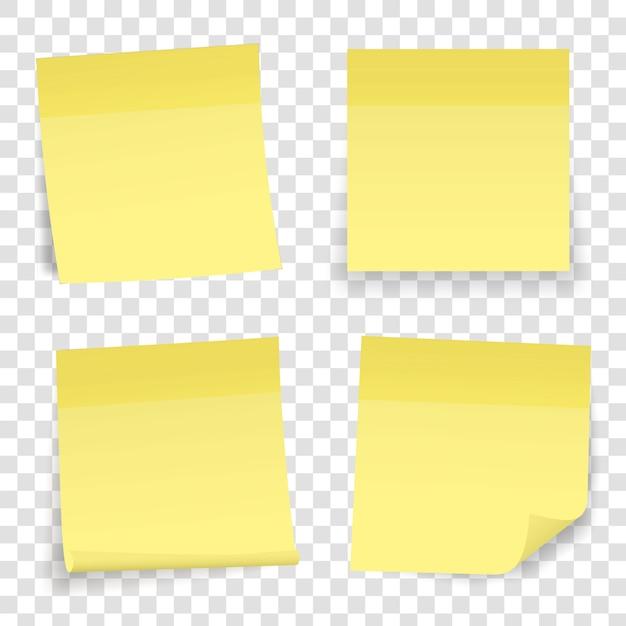 Perno adesivo in carta per appunti. nastro adesivo adesivo. Vettore Premium