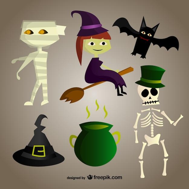 Personaggi dei cartoni animati per halloween scaricare