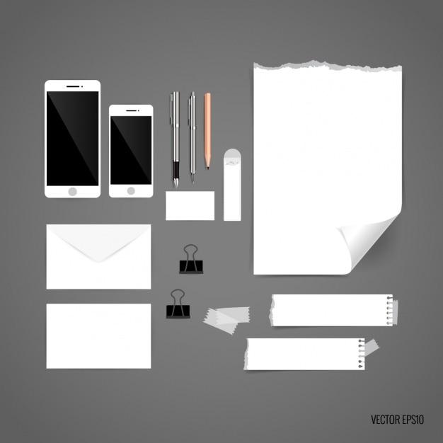 Pezzi di carta di design di cancelleria scaricare for Disposizione seminterrato di design gratuito