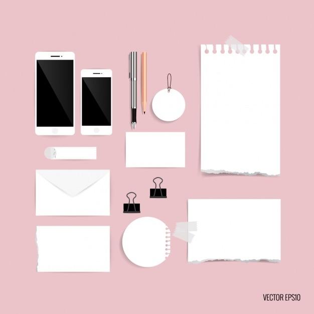 Pezzi di carta di design di cancelleria scaricare - Pezzi di design ...